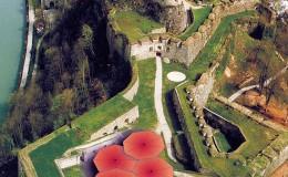 Wandelbare Überdachung Josefsburg, Kufstein, 1999
