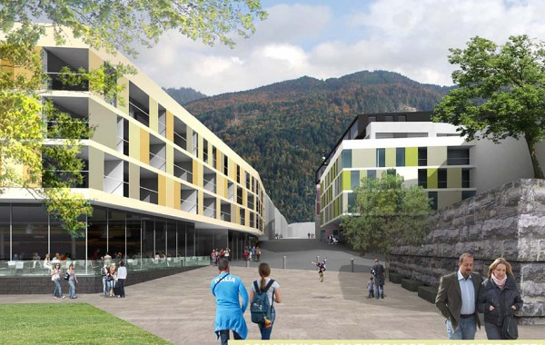 Wettbewerb Unterer Stadtplatz, Kufstein, 2007