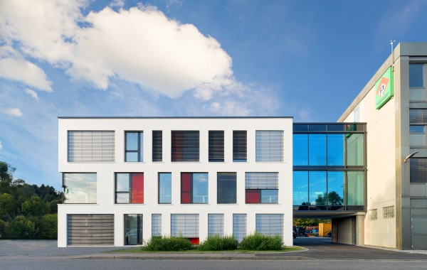 Neubau Bürohaus Fa. Pfeiffer Bau GmbH, Rosenheim, 2016