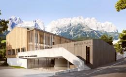 Wettbewerb Bildungszentrum Going am Wilden Kaiser, 2017