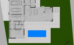 Wohnhaus Della Torre, Erdrgeschoss
