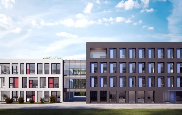 Umbau Bestandsgebäude Fa. Pfeiffer Bauges.m.b.H., Rosenheim, 2018.